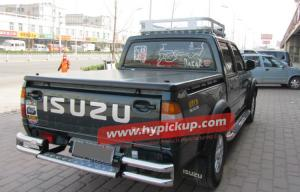 Quality FRP pickup tonneau covers for D-max 2003+ for sale