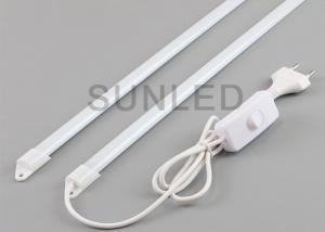 China Plastic Led Rigid Strip Light Bars , 220V Waterproof Rigid Led Bar With Plug on sale