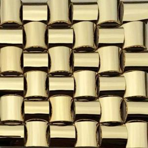 golden 3d arched metallic mosaic tiles trim stainless steel laminate rh stoneslabcountertop sell everychina com IKEA Stainless Steel Backsplash IKEA Stainless Steel Backsplash