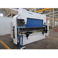 China 110 Ton 2500mm Hydraulic Press Brake Machine With DELEM DA-66T CNC Control Unit on sale