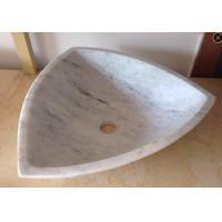 Arabescato White Marble Basin / Bathroom Wash Sink Wood Vein Marble Basin