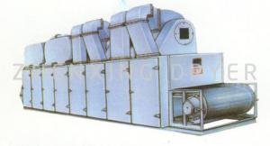 China High Evaporation Capacity Mesh Belt Dryer Shredded Coconut Stuffing Drying Equipment For Plastic Product on sale