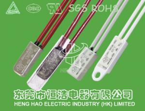 China Motor Thermal Protection Device , Manual Reset Bimetallic Thermal Sensors on sale