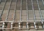 Pan Cake Baking Woven Eye Link Mesh Conveyor Belt With 316 Stainless Steel