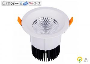 Quality Die Casting Aluminum Commercial LED Downlight With Reflective Lens 8W 960lm - for sale