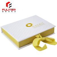 Book Shaped A5 Jewelry Set Gift Box , Cardboard Jewelry Boxes With Logo