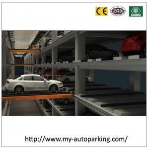 China 5 Levels Automated Robotic Car Parking System Intelligent 3D Underground Parking Project on sale