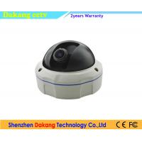 Smart Dome Starlight IP Camera 2 Way Audio Vandal Resistant With SD Card