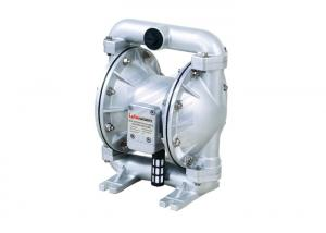 China 90 Liter Air Operated Double Diaphragm Pump For Petroleum Mining And Automotive Industry on sale