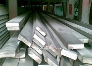 China Cold Drawn 200 / 300 Series Stainless Steel Profiles Flat Bar Hot Rolled on sale