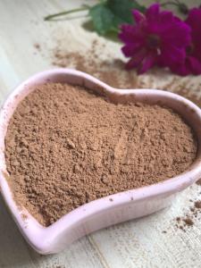 Quality Pure Organic Cacao Powder , 100 Percent Cocoa Powder For Listlessness / Malaria for sale