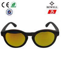 Custom TAC Polarized Colored Wood Frame Sunglasses For Boys And Girls