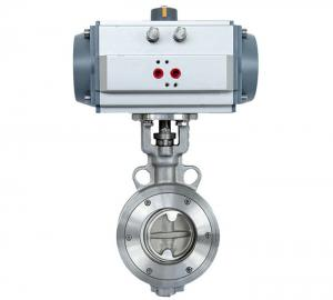 China DA -92 Diaphragm Valve Quarter Turn Pneumatic Actuator Double Acting For Chemical Industry on sale