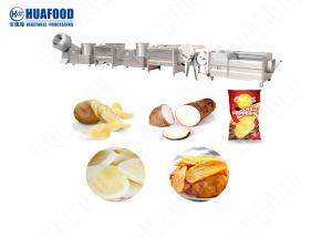 China 200kg/H Semi-Automatic Potato Chips Processing Line on sale