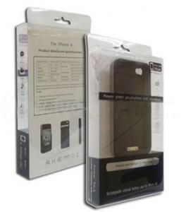 China iphone 4 External Backup Battery Case with USB Cable on sale