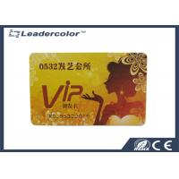 PVC VIP Magnetic RFID Plastic Card CR80 With 4 Color Printing