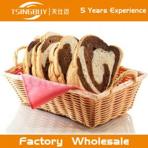 China Factory wholesal 100% nature handcraft rattan storage basket-Food Save Natural Wicker Bread Basket on sale