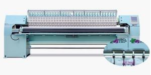 China 50 Needles Computerized Quilting And Embroidery Machine With High Precision on sale