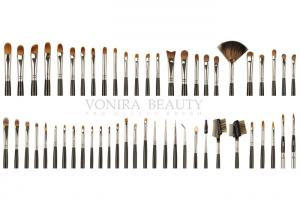 China Beautifully Crafted Private Label Makeup Brushes With Deluxe Goat Sable Hairs on sale