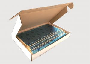 China 1.4kg No Vibration Self Adhesive Sound Deadening High Density Foam Rubber on sale