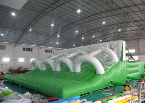 China 0.55mm PVC Tarpaulin Inflatable Obstacle Challenges / Inflatable Assault Course For Adults on sale