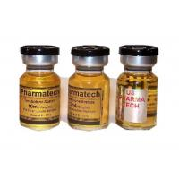 China Gold Glossy Paper Waterproof  Steroid Vial Labels For Trenbolone Aceate on sale