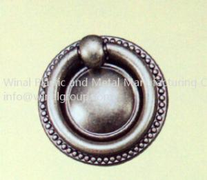 China Nickle plating round ring handle,single ring,furniture drawer ring.Size & finish can OEM. on sale