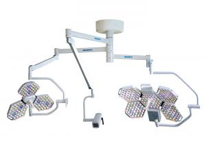 China Three Arm Ceiling Mounted Medical Surgical Lighting Systems With Display Recorder on sale