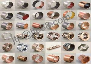 China High Precision Copper Plating Bronze Sleeve Bearings Various Size on sale