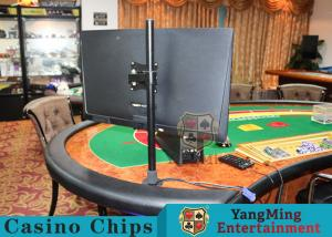 China Black Color Casino Standard Sic Bo Craps Road Software With HD 19 - 24 Inch Screen Display Holder on sale