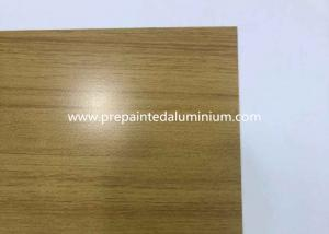 China Top Brand Wood color coated aluminum sheets used in outdoor wall decoration on sale