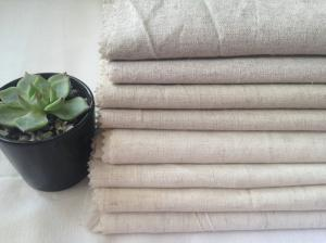 China Linen greige fabric linen viscose/rayon blended fabric used for garment on sale