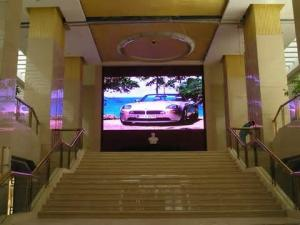 China P5 SMD indoor advertising super thin led screen p5 1R1G1B with PAL / NTSC on sale