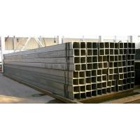 China Cold Rolled Square Erw Hollow Steel Pipe & Tubes Welded Black Waterproof on sale