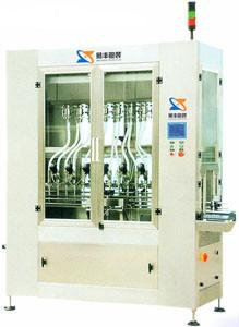 China 16 Heads Micro-computer In-line Piston Filling Machine With Weighing Feedback System on sale