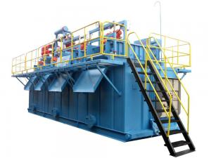 China High Strength Drilling Mud System 0.45KW x 2pcs With Corrugated Sheet Structure on sale