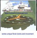 4m 6m 7m 9m 60m Floral Clock movement mechanism,flower clockmovement motor,garden clock machine,-(Yantai)Trust-Well Co