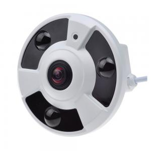 China 3.0MP Starlight Fish Eye Home Security Camera , Panoramic 3d Camera Low Illumination on sale