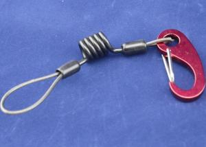 China Small Type Kayal / Fishing Use Spring Coil Cable With Egg Hooks on sale