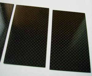 China High Performance Tolerance ±0.1 Carbon Fiber Plate laminated sheet of 3k / Twill on sale