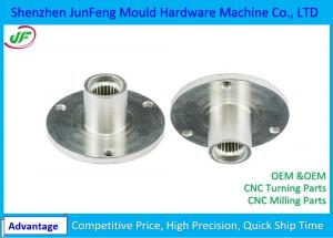 China High Precision CNC Machine Parts , CNC Motorcycle Parts zinc / nickel plating Surface Treatment on sale
