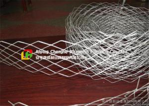 China 2440 X 1220 Wire Mesh Ceiling Panels , Expandable Metal MeshImpact Proof on sale
