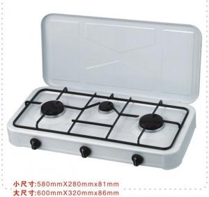 0.70mm Table Top Portable Stainless Steel Gas Stoves , Household Cooking  TL S502