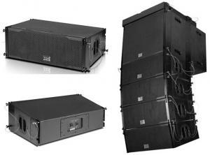 China High Decibels Pendant Concert Sound System 2pcs 8inch LF Array PA Audio on sale