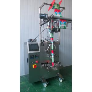 China Multi - Function Liquid Pouch Packing Machine For Pure Water / Soybean Milk on sale