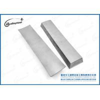 Hand Tool Tungsten Carbide Hardfacing Welding Rods , Flat Alloy Welding Rods