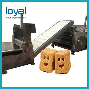 China Darin Stainless Steel Dog Biscuit Making Machine Pet Biscuit Production on sale