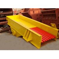 Electromagnetic vibrating feeder equipment for Mining Industry