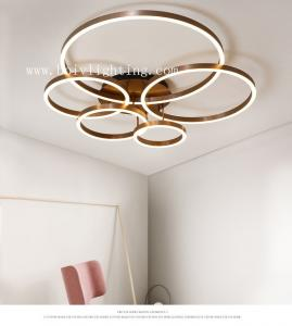 ... Quality Acrylic And Aluminum LED Ceiling Lamos Wihte 580*400*120MM Coffee  Color For