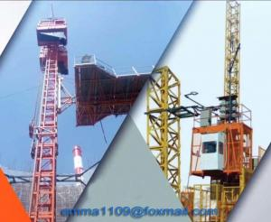 China SC50 Special Construction Elevator For Tower Cranes with 1m Cage size on sale